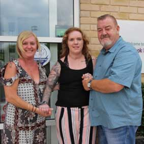 Hunts Post Feature: Parents praise centre that helped their daughter reach goals after near-fatal crash